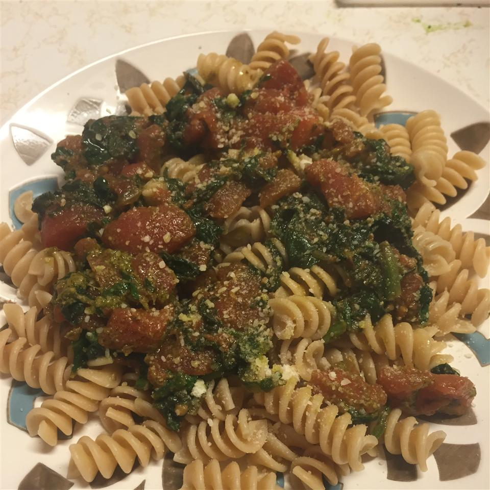 Pesto Spinach and Tomatoes Markizzz