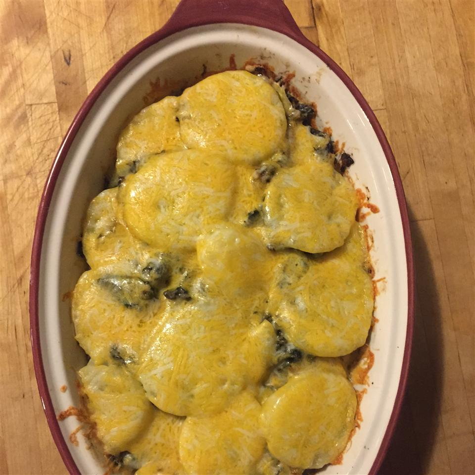 Curry Kale and Potato Galette