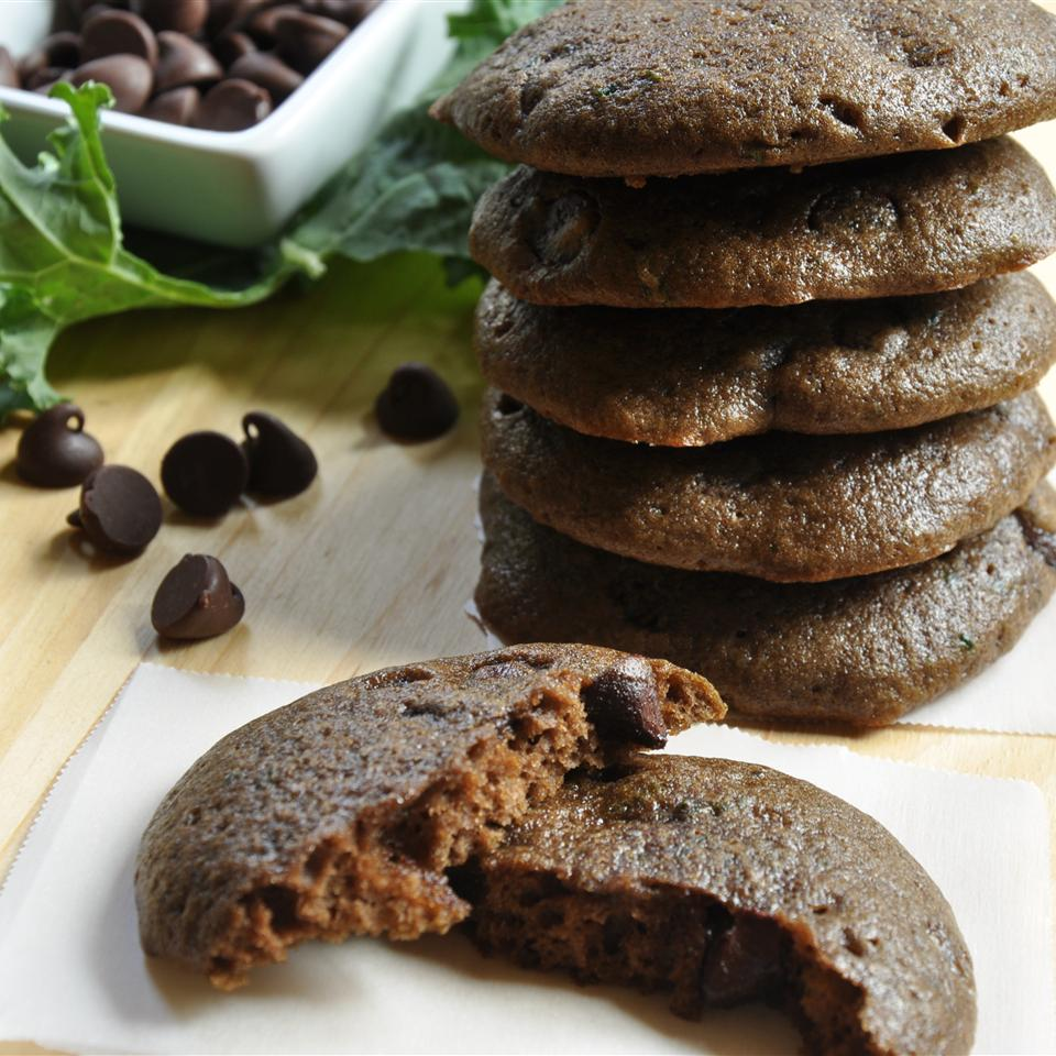 Chocolate Kale Cookies