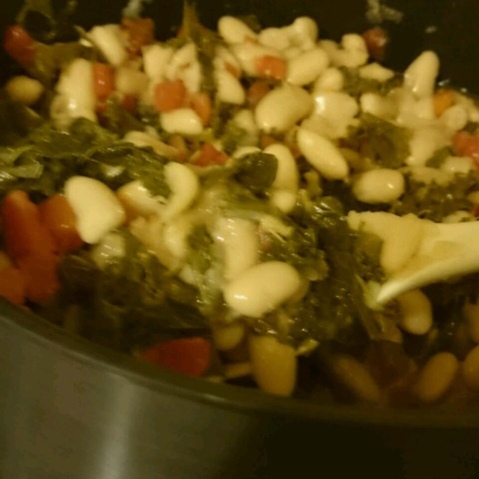 Bean and Kale Ragu Ashley Hudson