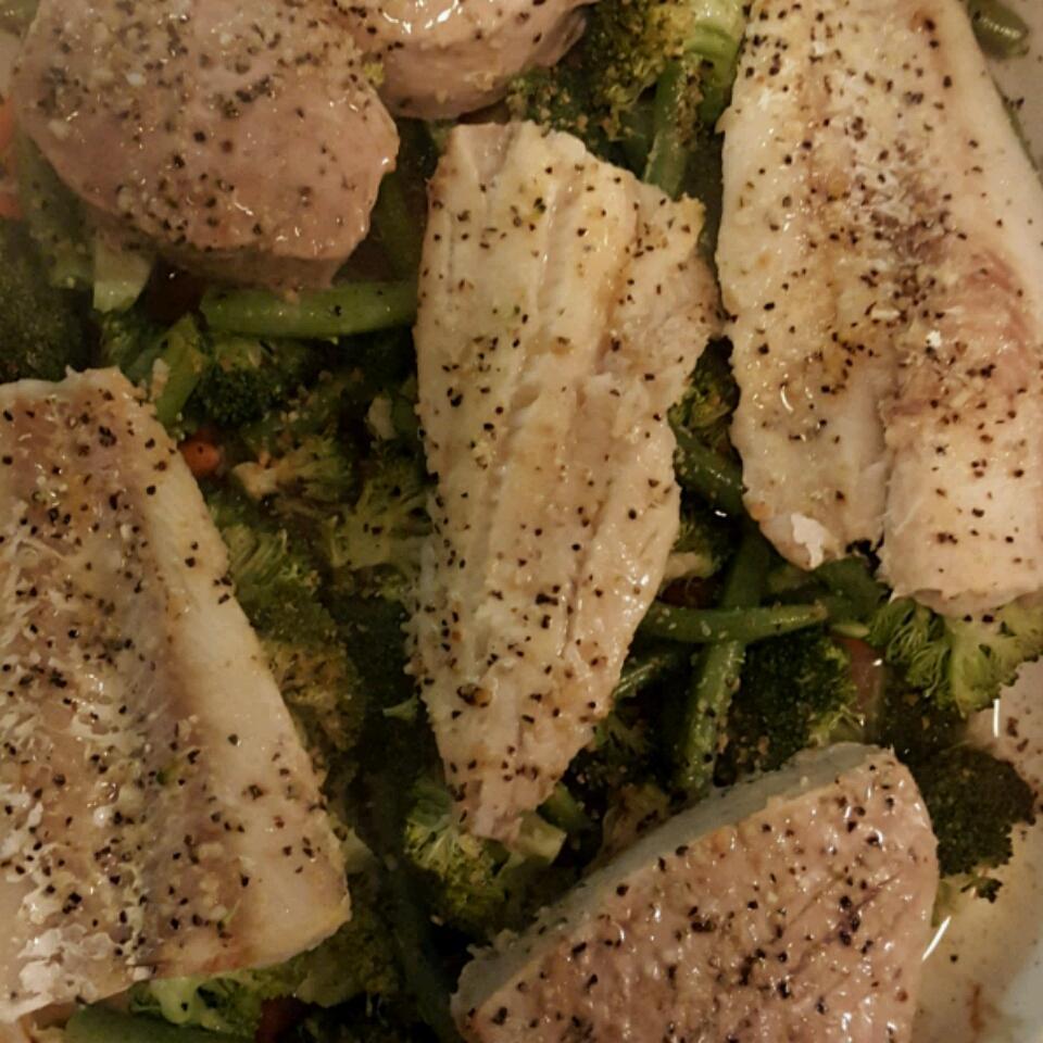 Fish and Veggie Dish mfonteno