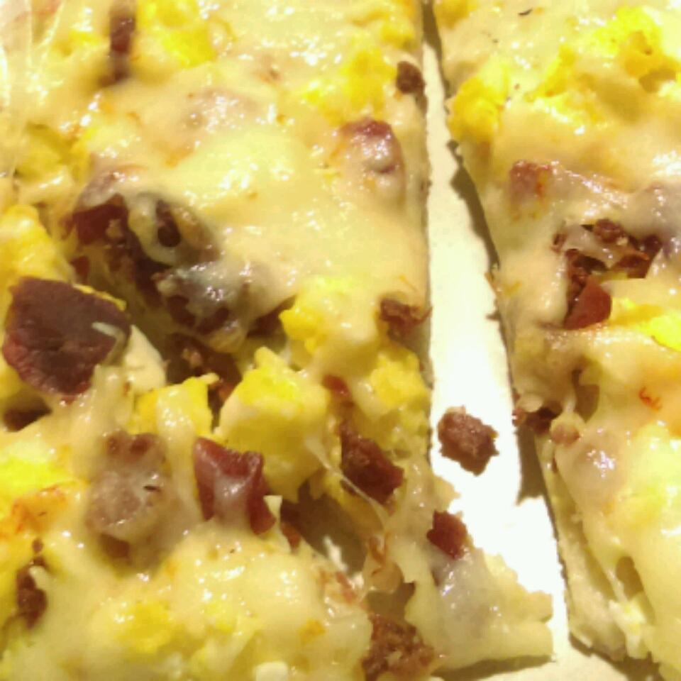 Breakfast Sausage Pizza Crystal Amber Hill