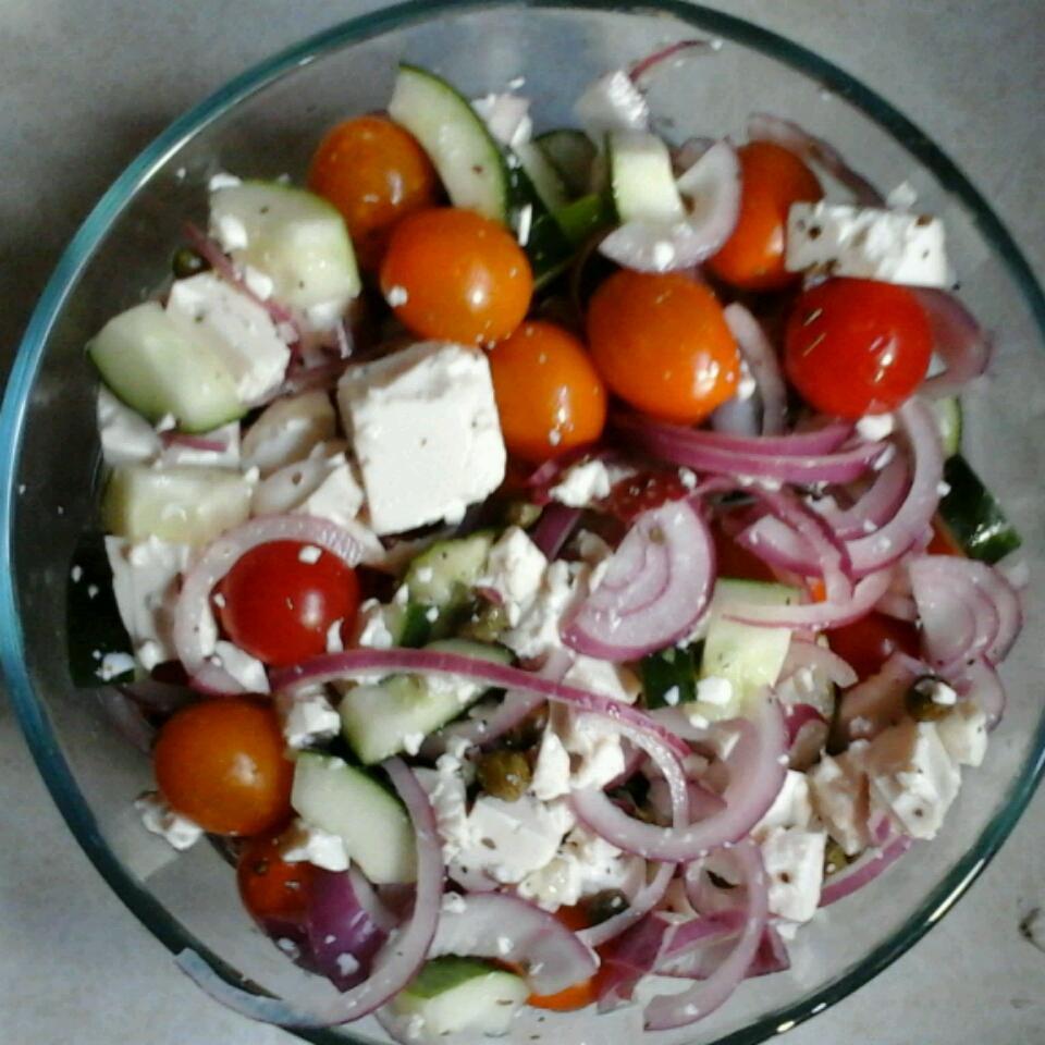 Cucumber and Tomato Salad GreekGuy
