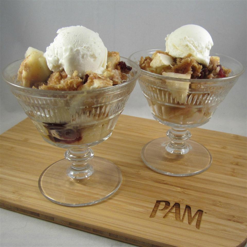 Apple-Cranberry Crisp by PAM® Deb C