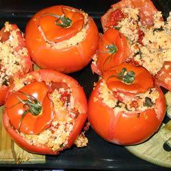 Quick Stuffed Tomatoes Mark P