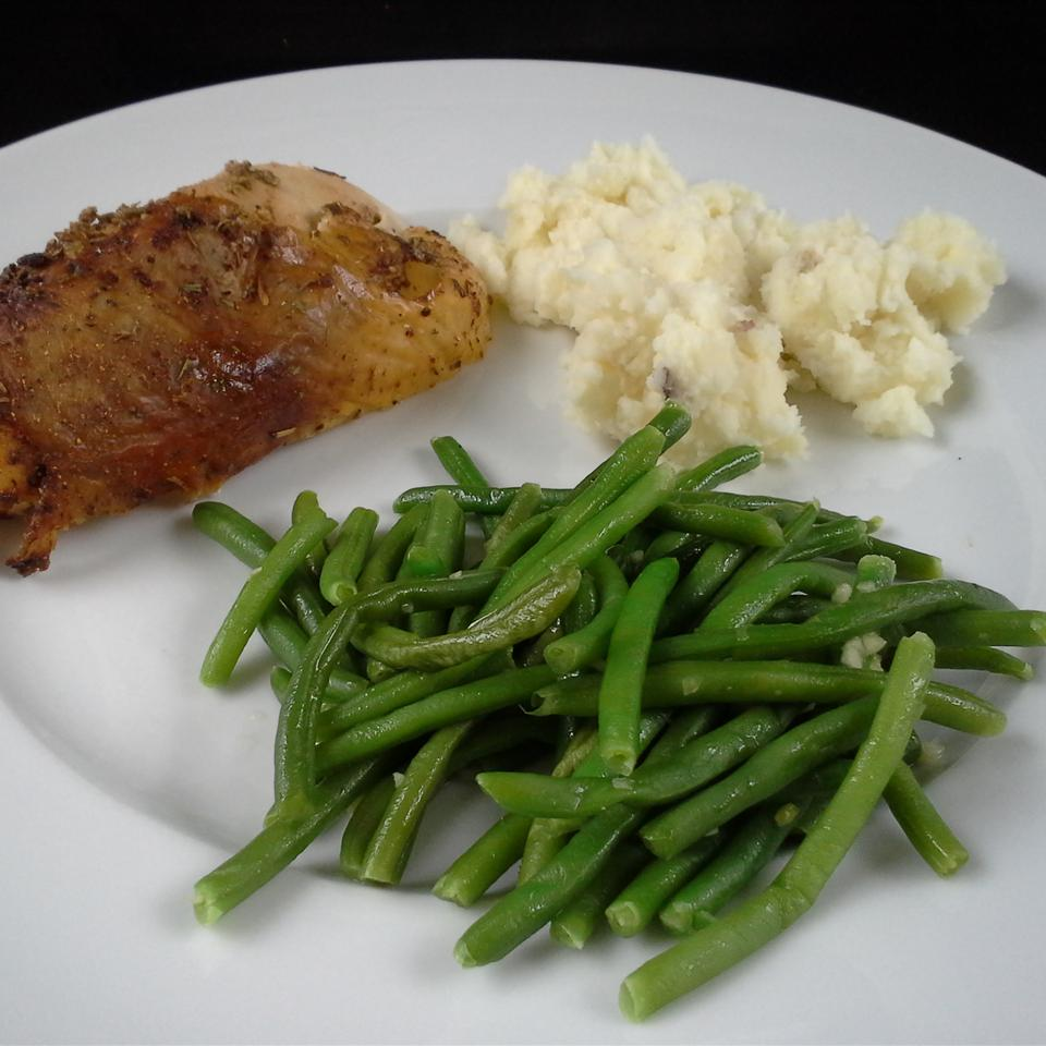 Deluxe Garlic Green Beans Rock_lobster