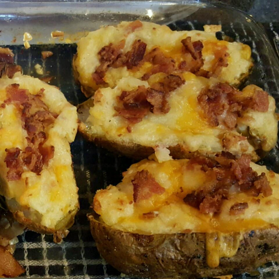 Cheesy Twice-Baked Potatoes julianne young