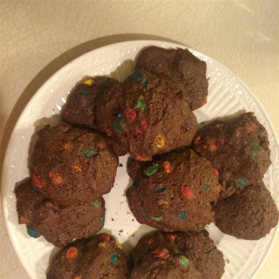 Chocolate Halloween Cookies mcbrooke