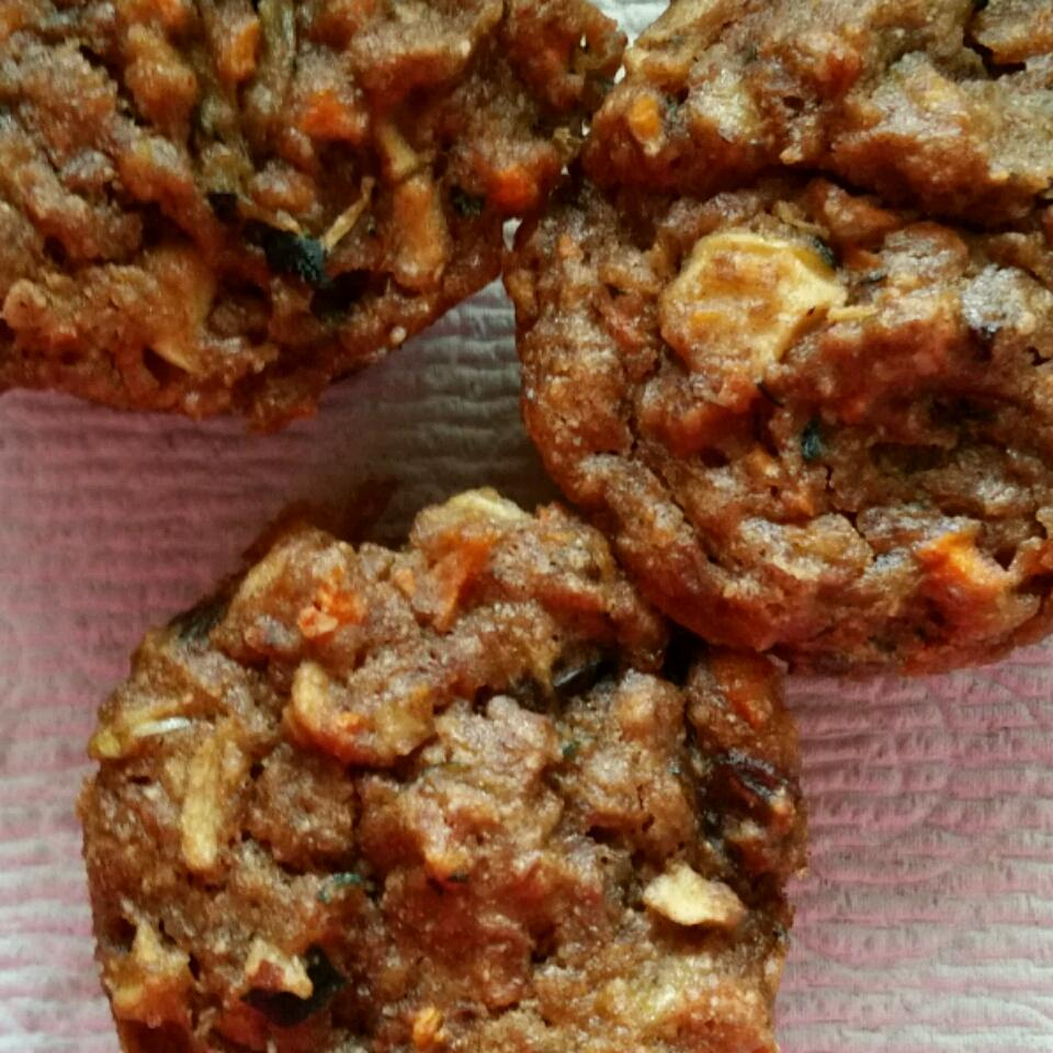 Gluten-Free Zucchini Carrot Muffins Helen Schwietert