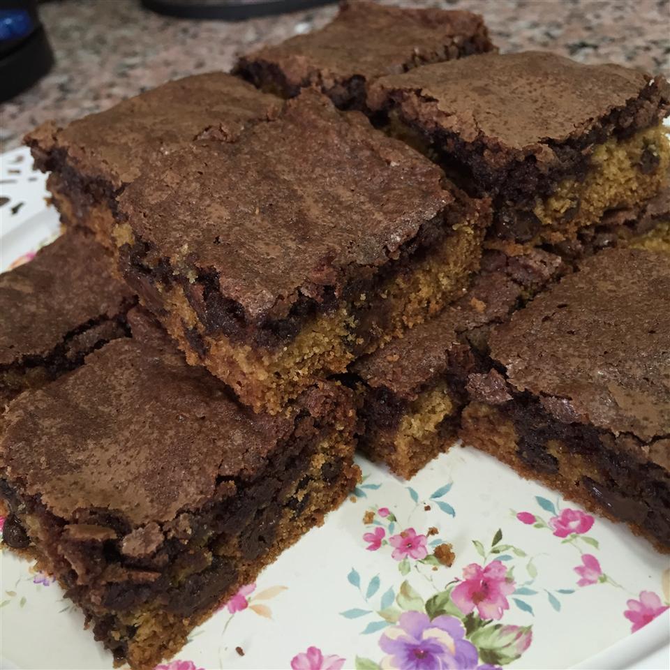 Brookies (Brownie Cookies) Meena