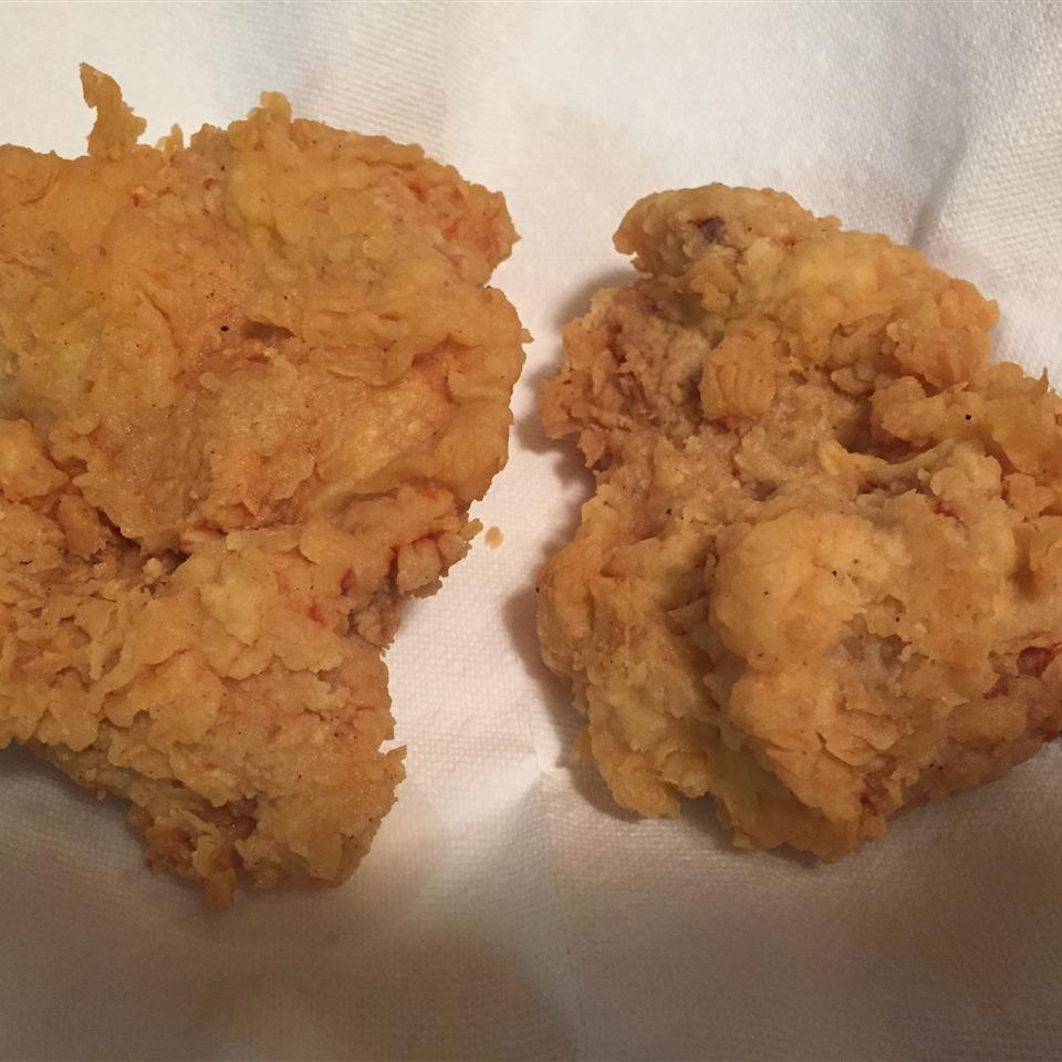 Triple Dipped Fried Chicken skwerl