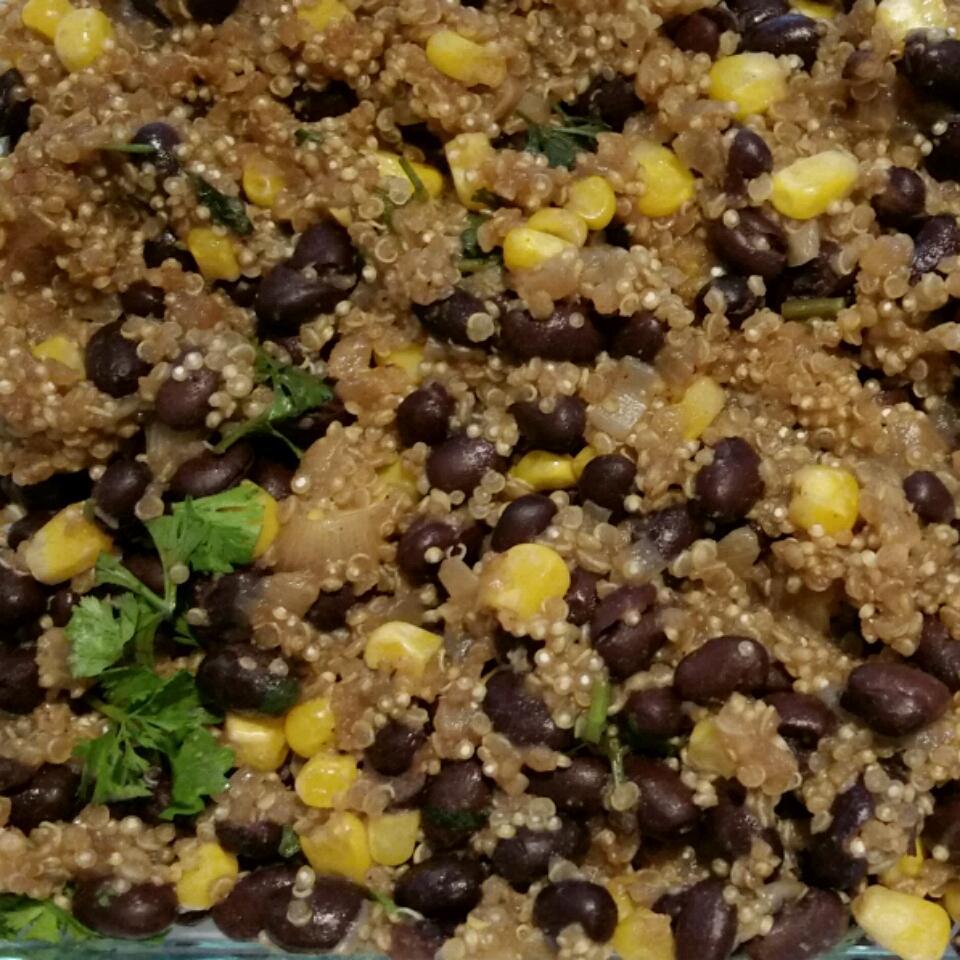 Quinoa and Black Beans junko