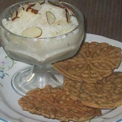 Yogurt Almond Ice Cream SHAHZADI