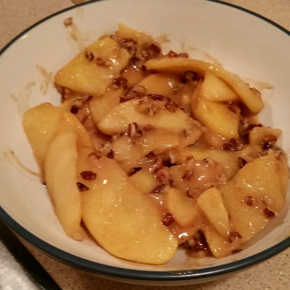 Toffee and Cinnamon Apples NewOrleansLady