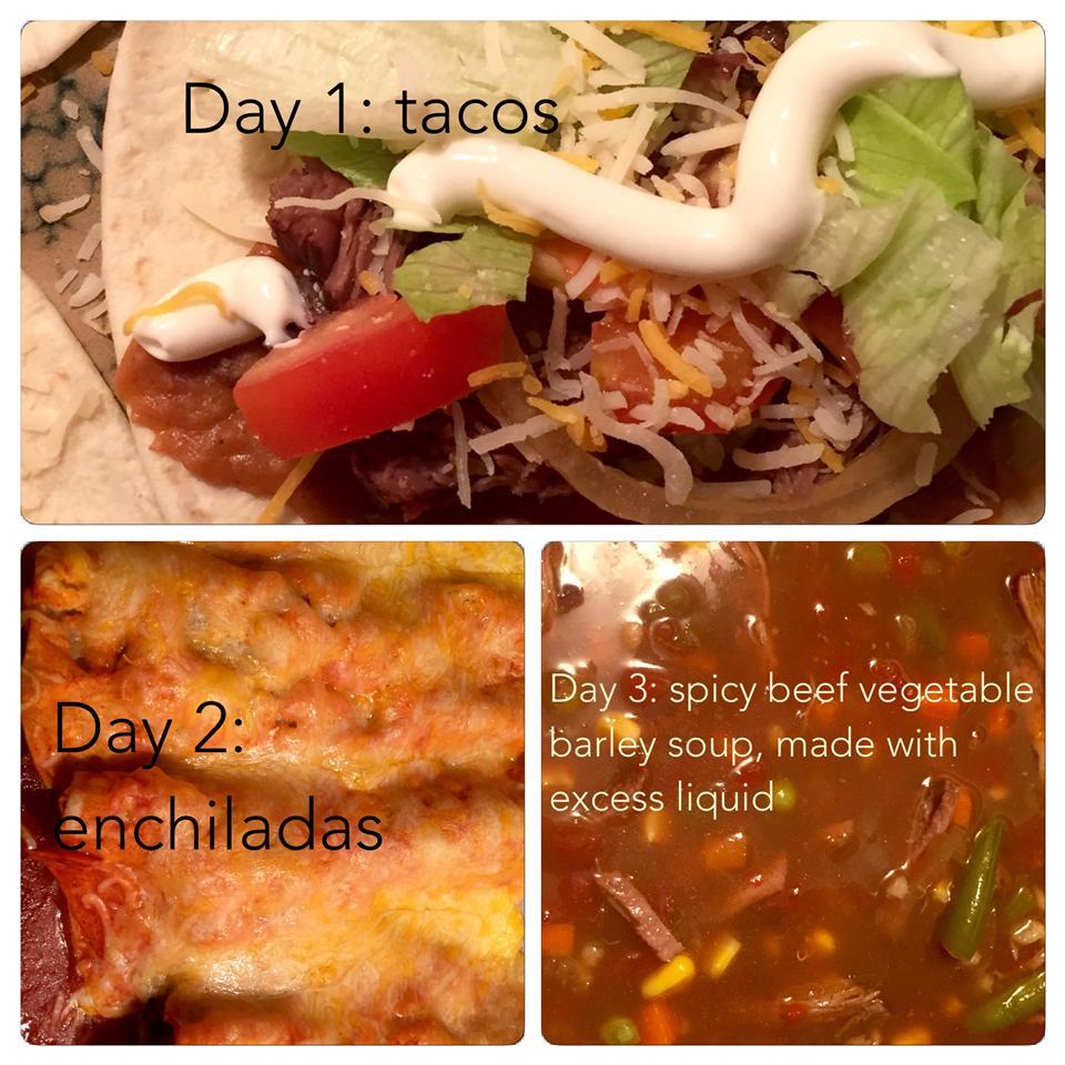 No Fuss Shredded Beef Tacos