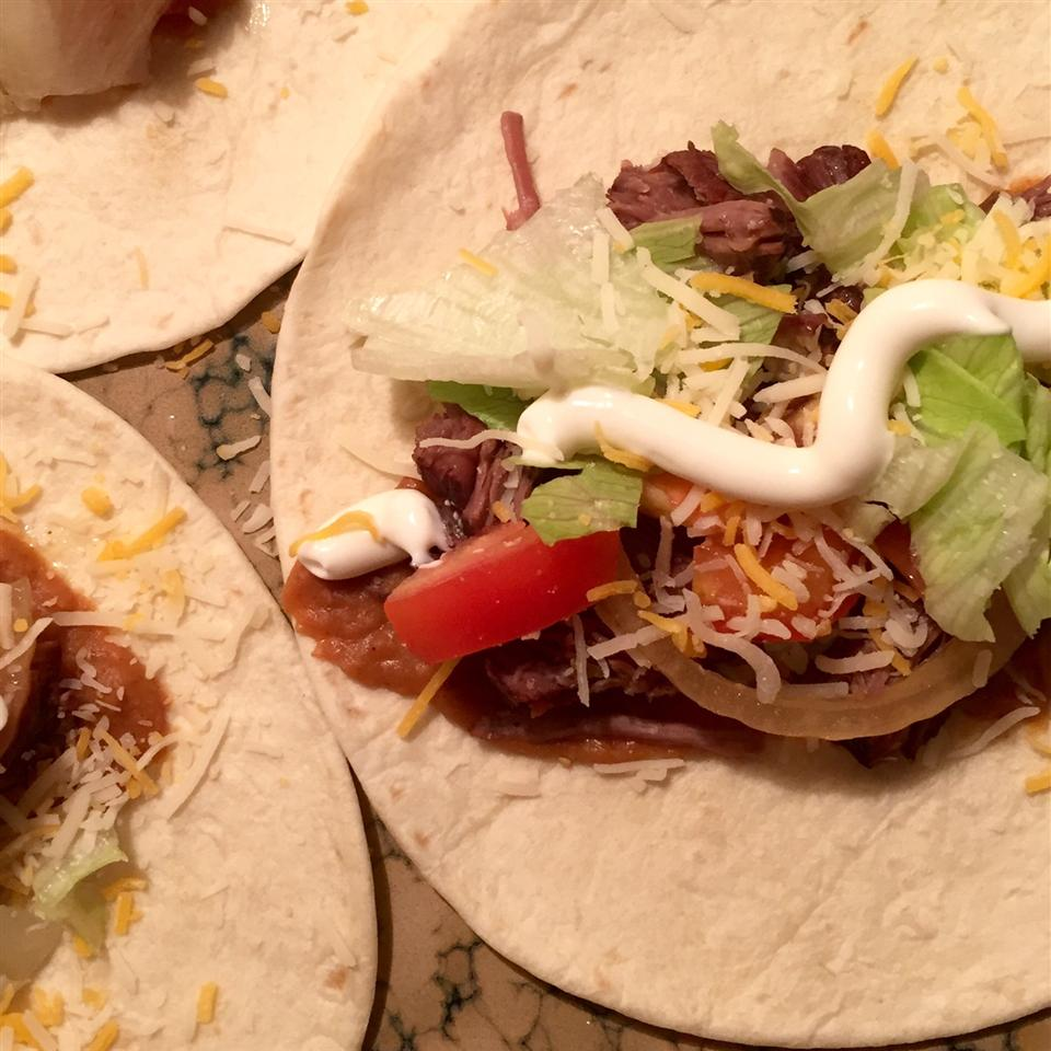 No Fuss Shredded Beef Tacos Michelle Jackson