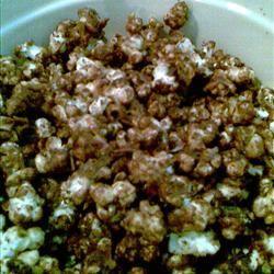 Chocolaty Caramel-Nut Popcorn Michelle