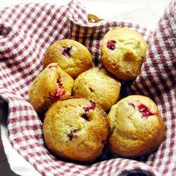 Cranberry-Cardamom Muffins