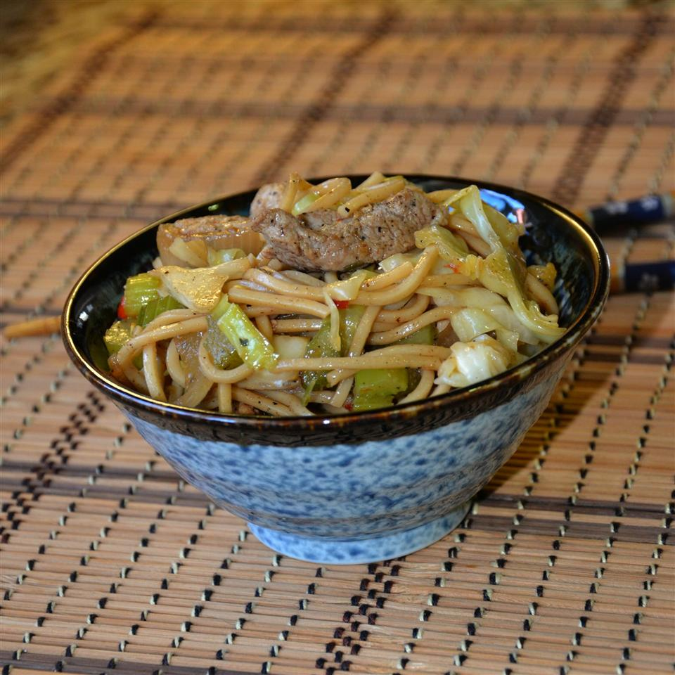 Indonesian Pork Noodle Bowl