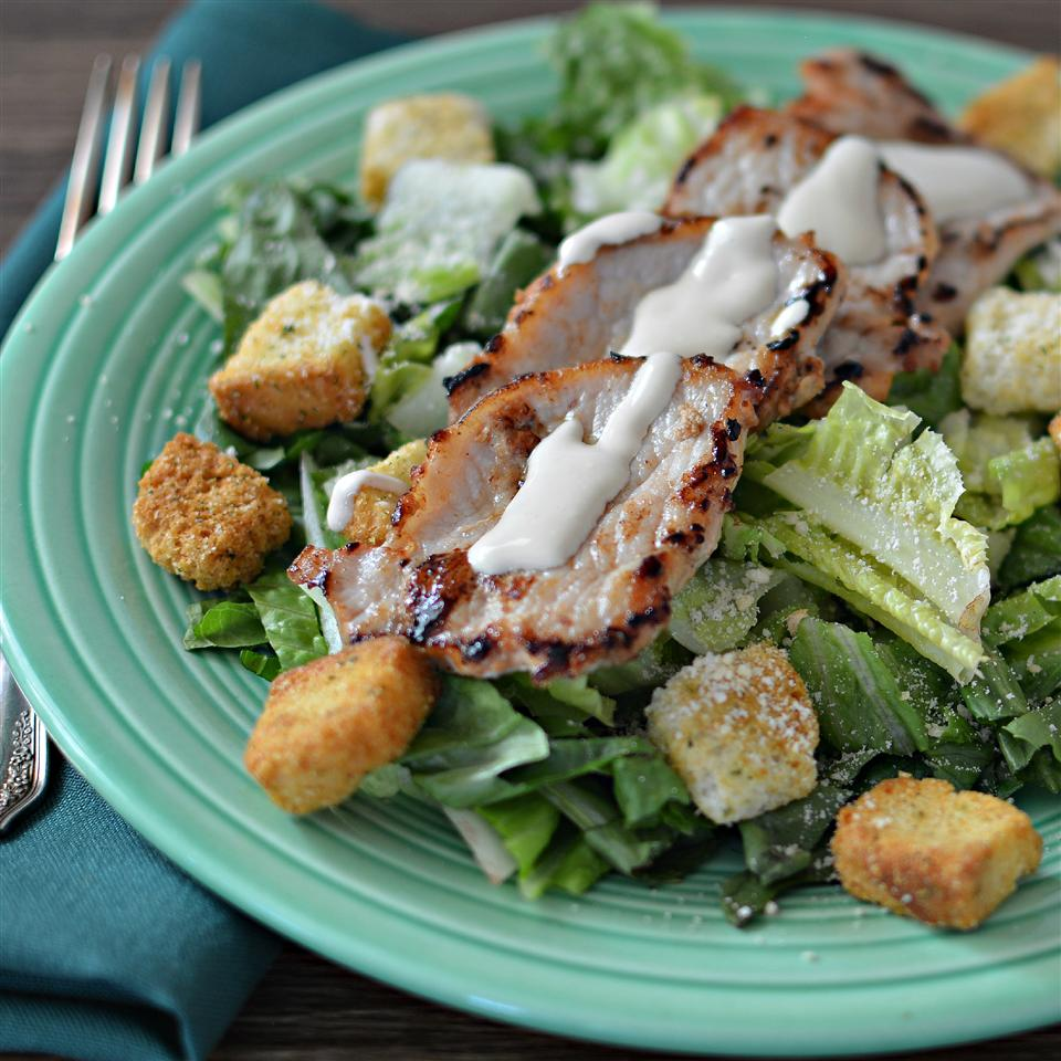 Pork Caesar Salad from Smithfield® bd.weld