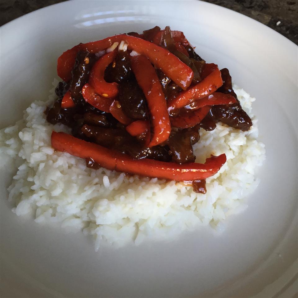 Spicy Crispy Beef Brent