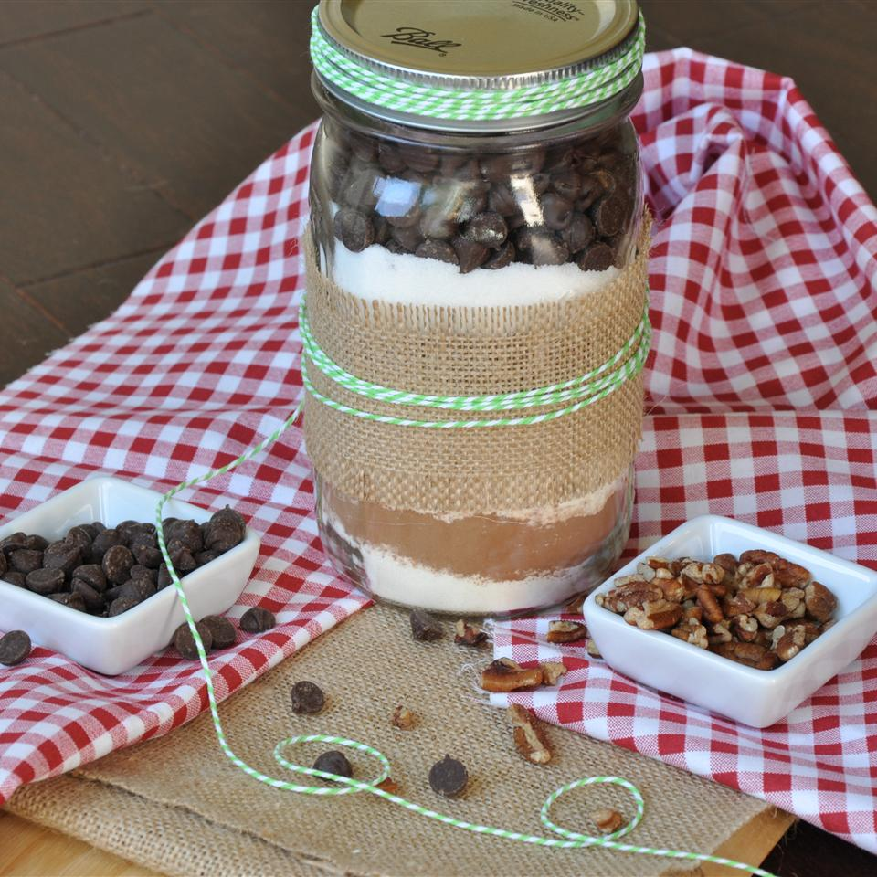 Jo's Brownie Mix in a Jar laceyworks