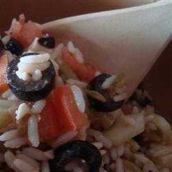Mediterranean Rice Salad Cooking princess