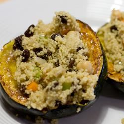 Moroccan-Style Stuffed Acorn Squash