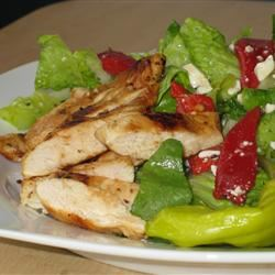 Mediterranean Chicken Salad Fit&Healthy Mom