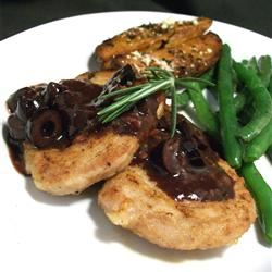 Kalamata Pork Tenderloin with Rosemary