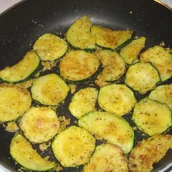 Pan-Fried Zucchini love cooking