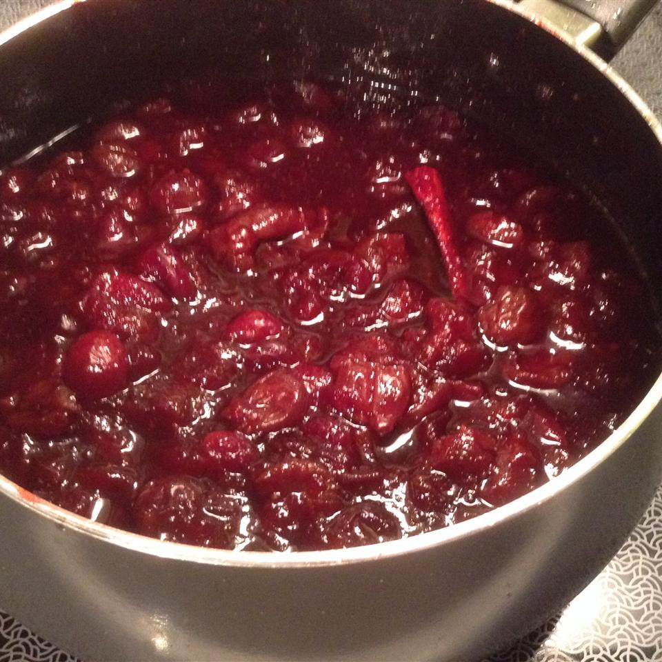Dried Cherry and Cranberry Sauce Kim Stewart