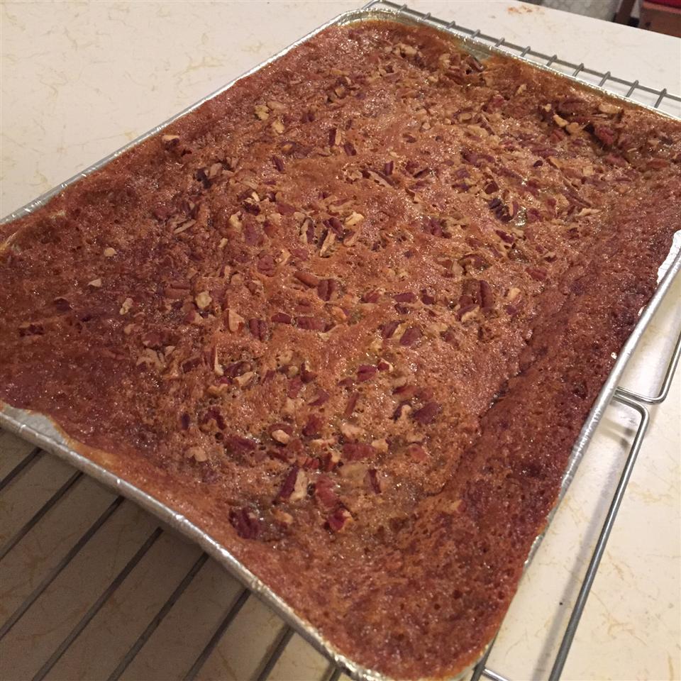 Pecan Pie Bars with Cake Mix Christel Berg