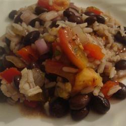 Black Bean and Rice Salad amandak23k