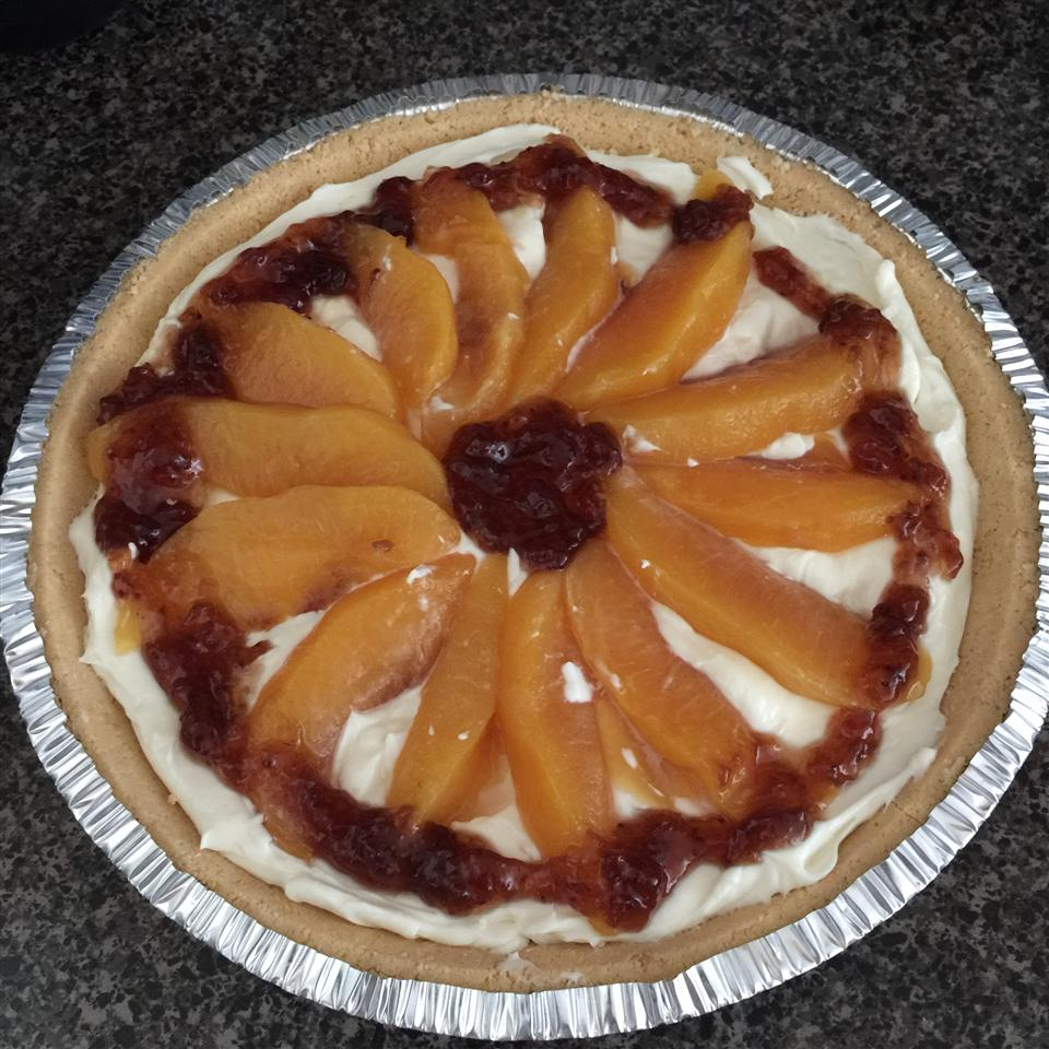 Peach Surprise Pie MrsSerrano