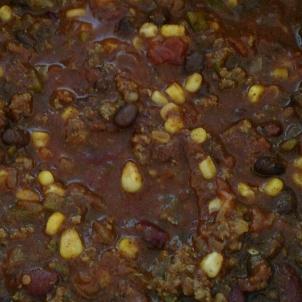 Hearty Beef and Two-Bean Chili