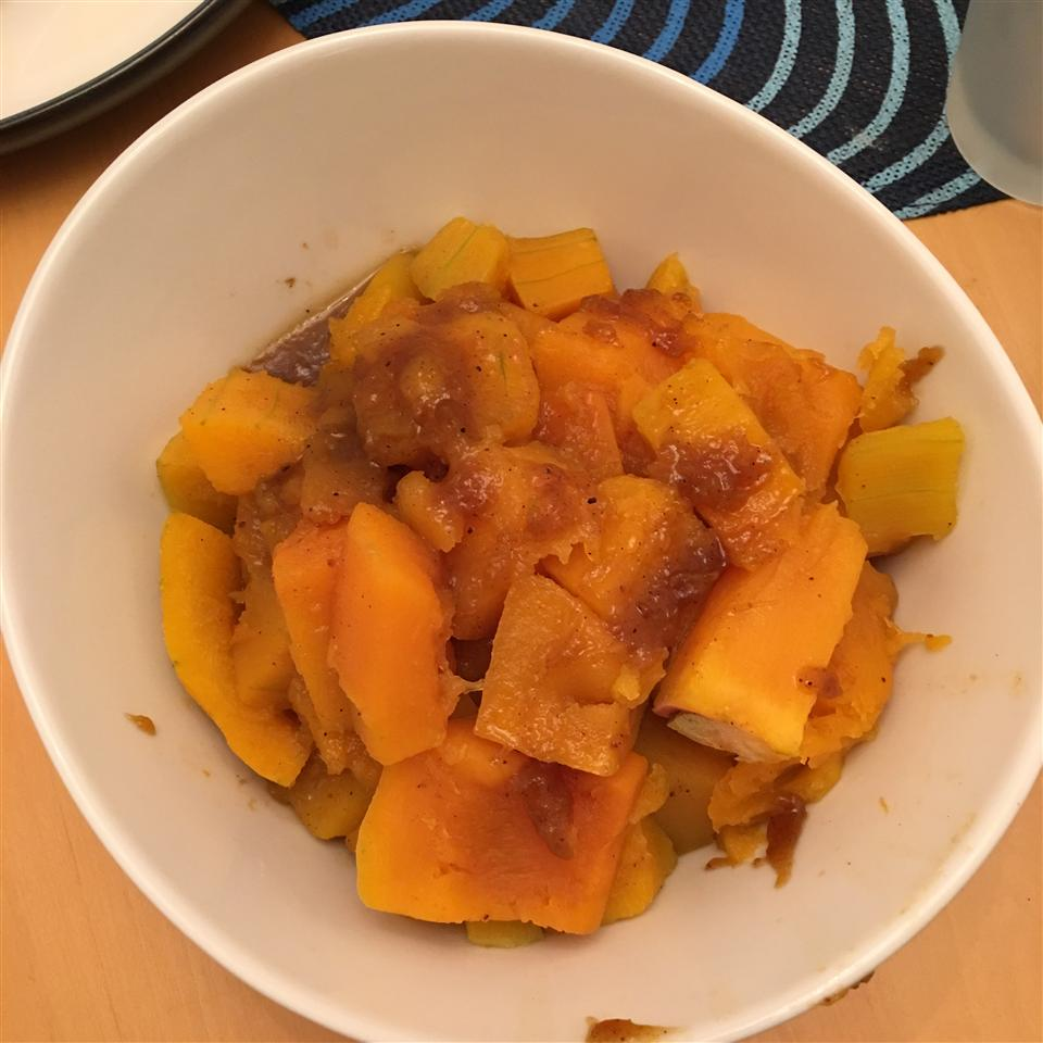 Maple Glazed Butternut Squash Antonia Elena Pearse