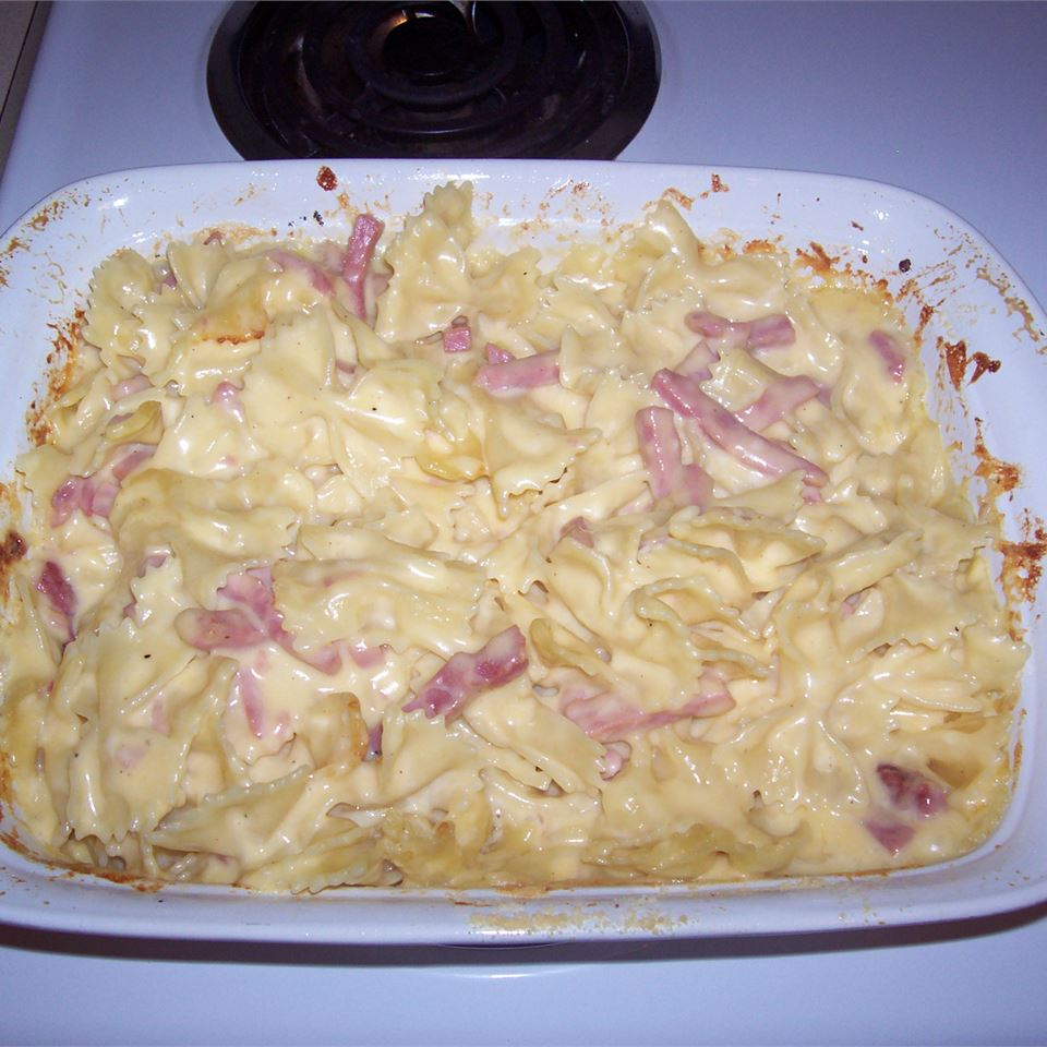 Ham and Cheese Bowties