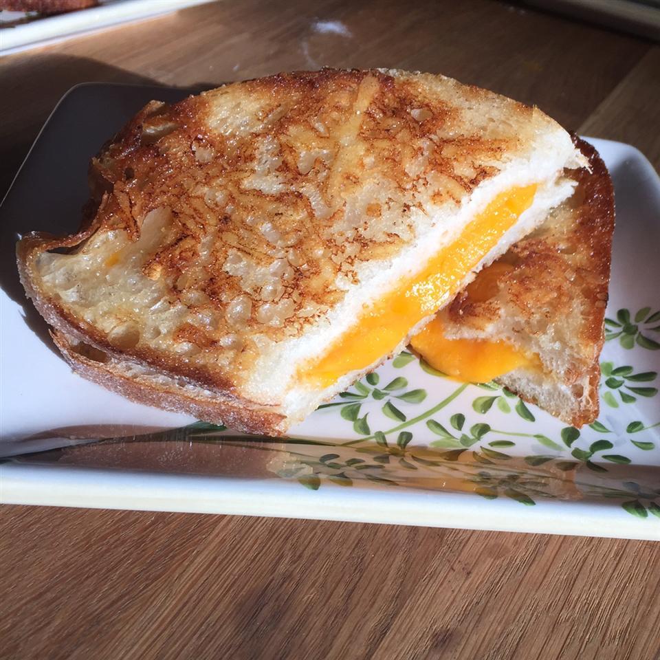 Mom's Gourmet Grilled Cheese Sandwich adam