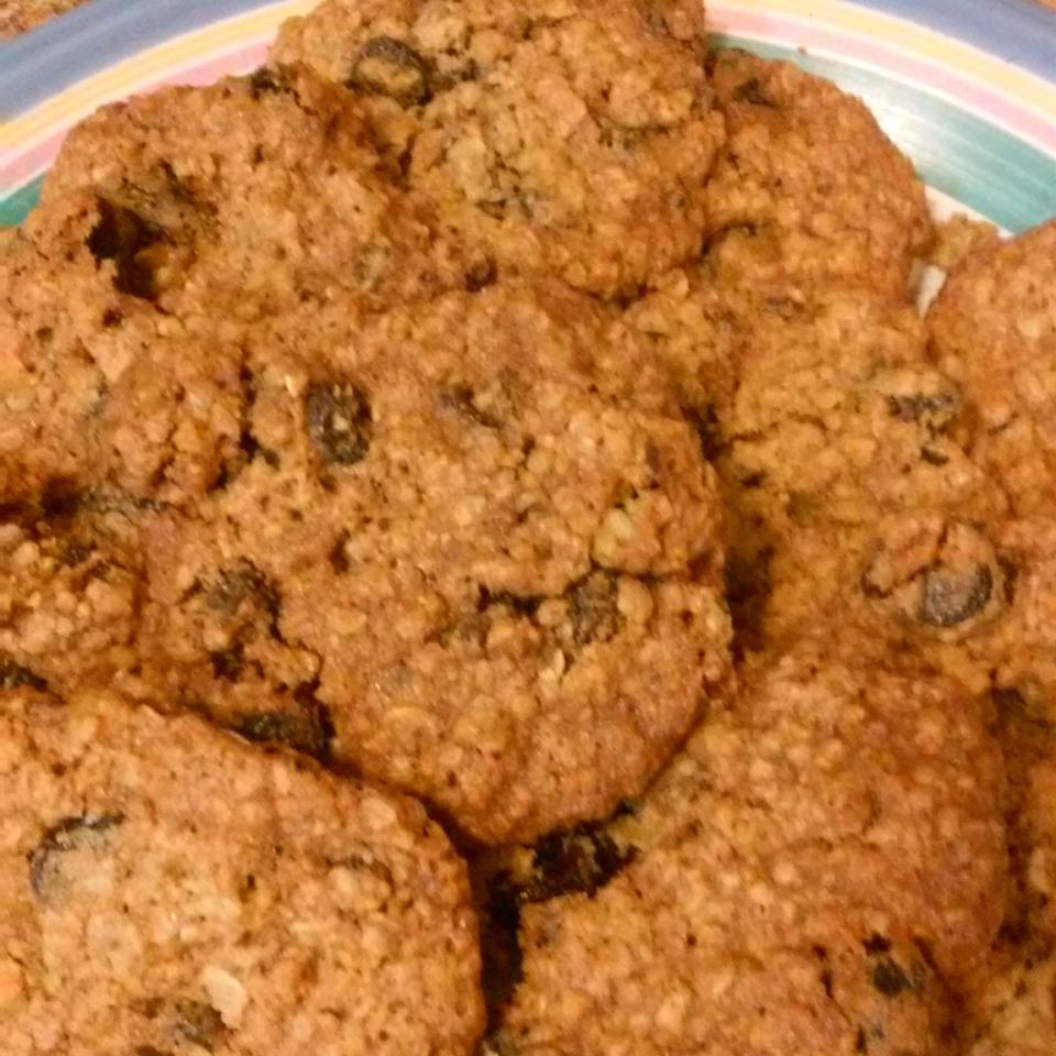 Oatmeal Cherry Walnut Cookies Monica Sivek
