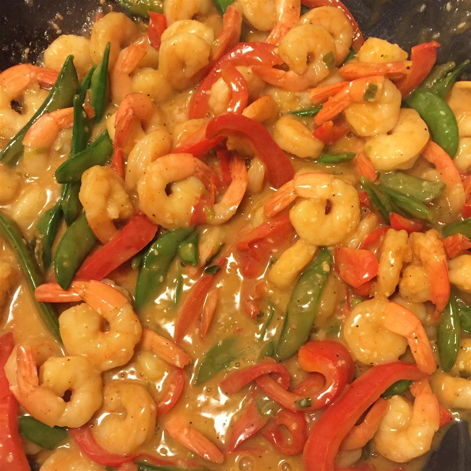 Sesame Shrimp Stir-Fry
