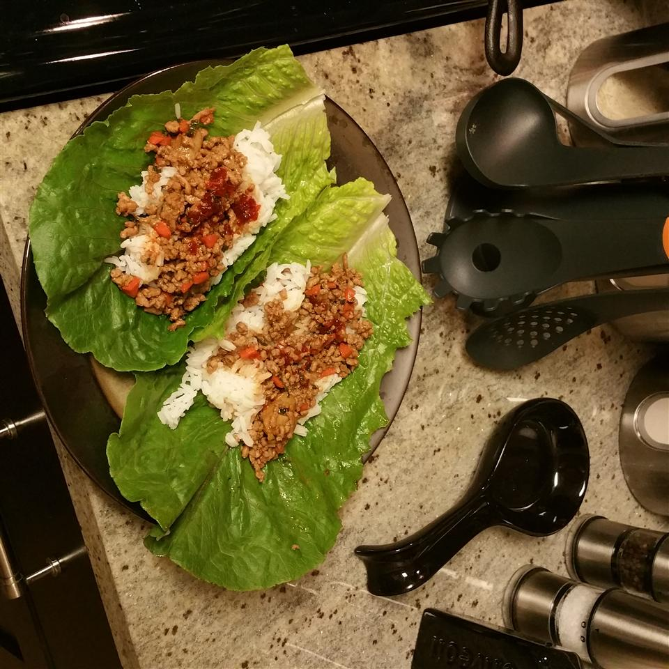 Quick Asian Lettuce Wraps Greggory Simpson