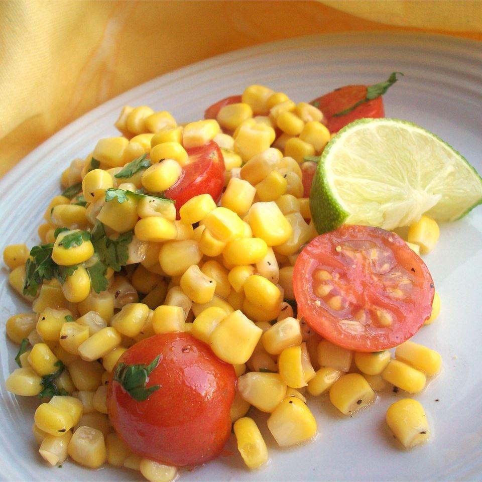 Cherry Tomato Corn Salad CookinBug