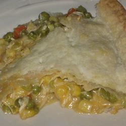 Cheesy Chicken Pot Pie McBacon