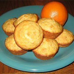 Tasty Orange-Oatmeal Muffins Gabrielle