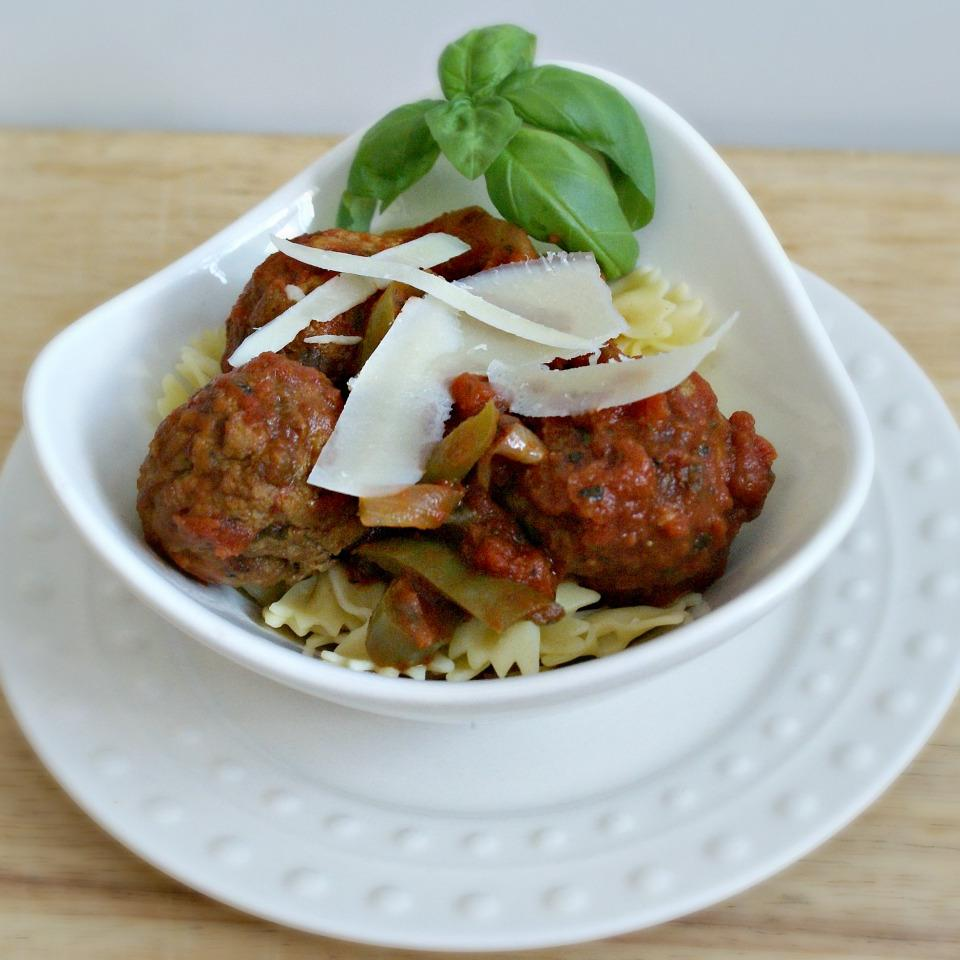 Italian Meatballs and Peppers by PAM® Elizabeth