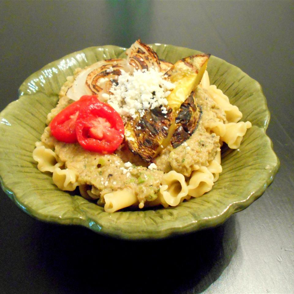 Mediterranean Grilled Eggplant Spread ONIOND