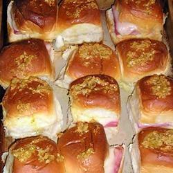 Mini Ham And Cheese Rolls Mrs.Williams