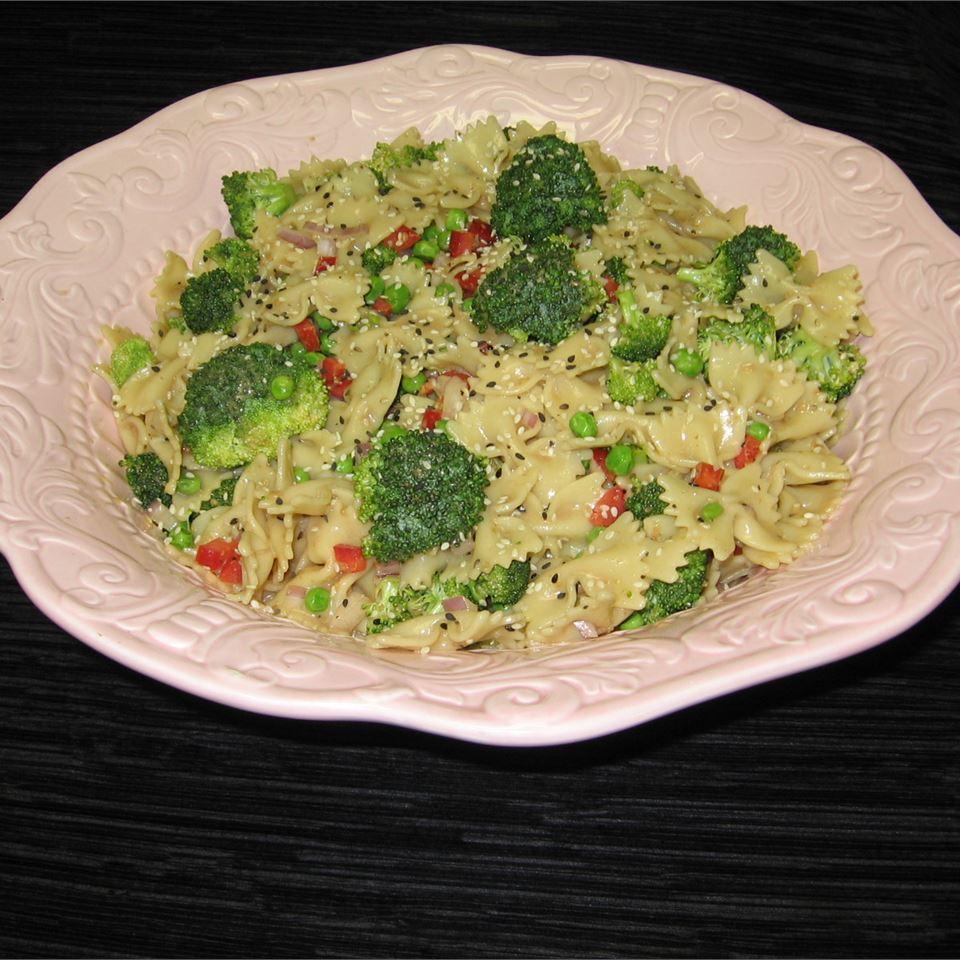 Asian Pasta Salad Donna Allen