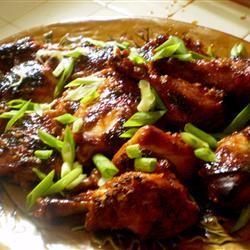Baked Asian-Style Honey Chicken apurpleocean